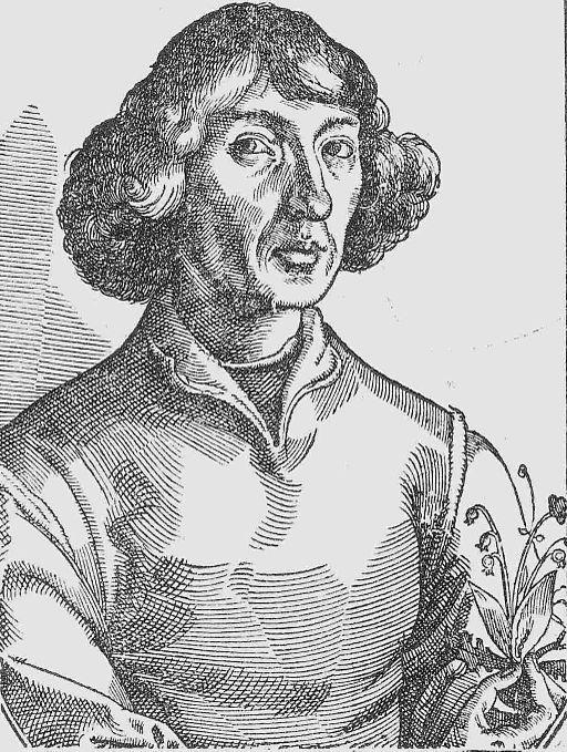 Nikolaus Kopernikus Holzschnitt - war nicht nur Astronom, sondern auch Astrologe